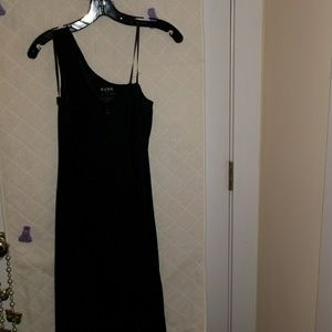 NWOT BCBG  Asymmetrical neckline dress